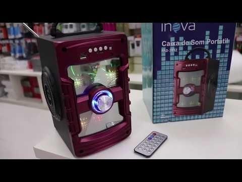 Caixa De Som Inova Original Rad-383z/ Usb