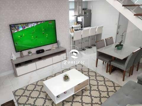 Cobertura Com 2 Dormitórios À Venda, 150 M² Por R$ 798.000,01 - Jardim - Santo André/sp - Co0400
