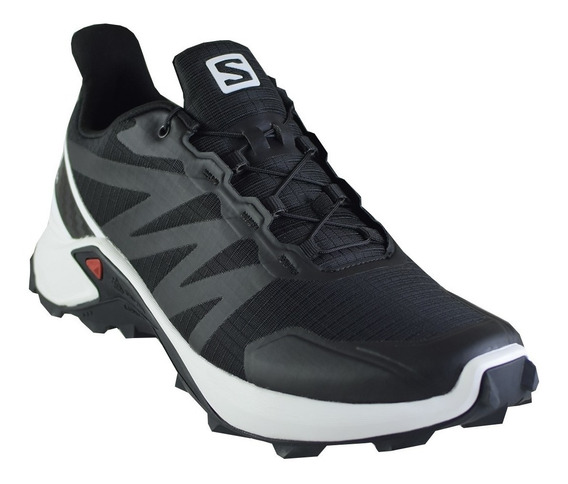 Zapatillas Hombre Salomon Trail Running Supercross Bl/wh
