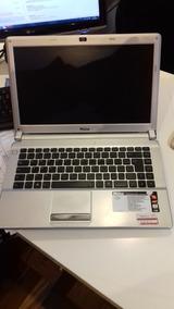Notebook Philco Rosa 14f Amd Dualcore 2gb Hd320 Tela 14 Win7
