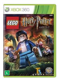 Lego Harry Potter Anos 5 Ao 7 Mídia Física Xbox 360