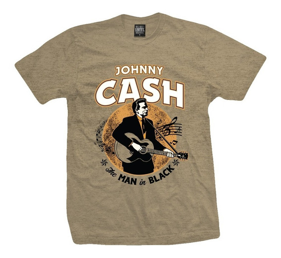 Remera Johnny Cash Folsom Night