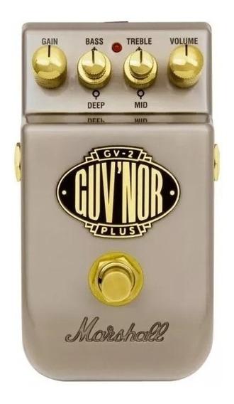 Pedal De Guitarra Guvnor Plus Gv-2 Marshall Com Nota Fiscal