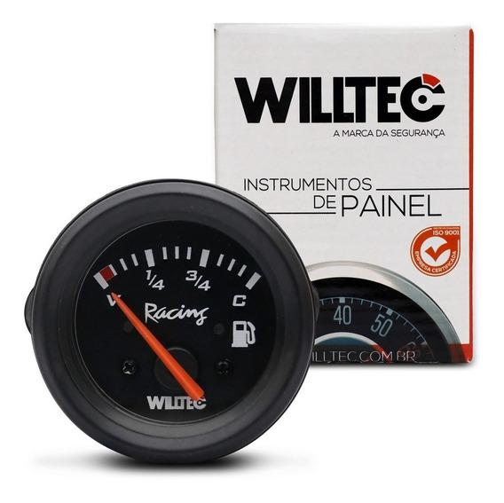 Indicador De Combustivel Universal V5 C90 12v Preto Willtec