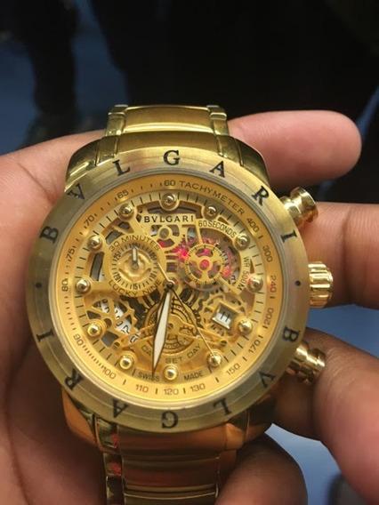 Relógio Bvlgari Skeleton