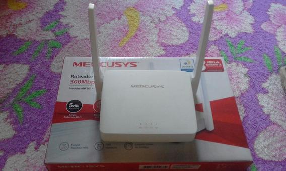 Roteador Mercusys 300 Mbp Duas Antenas