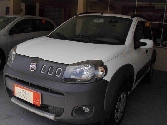 Fiat Uno 1.0 Evo Way Branco 8v Flex 4p