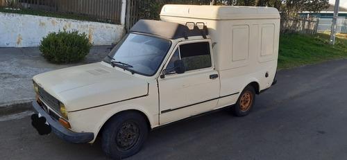 Fiat 147 Fiorino Furgão Baú Antigo Raridade