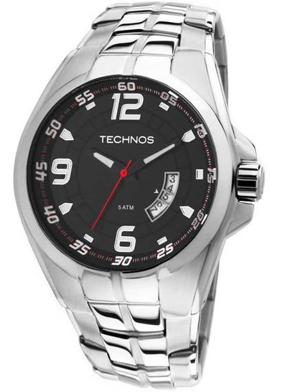 Relógio Masculino Technos Performance Racer Prata 2115ksw/1r