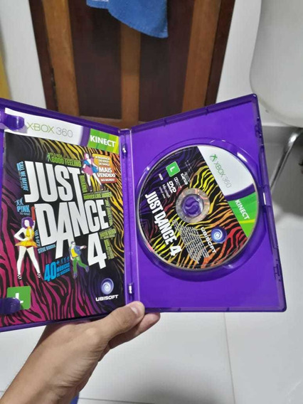 Jogo Xbox 360 Just Dance 4