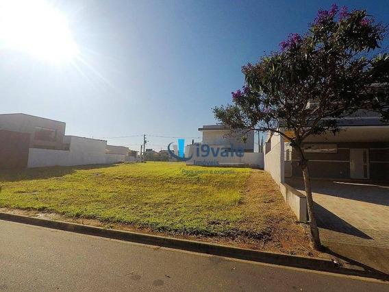 Terreno Em Condomínio Clube À Venda, 300 M², Rua Tranquila No Condomínio Ouro Ville - Taubaté/sp - Te0537