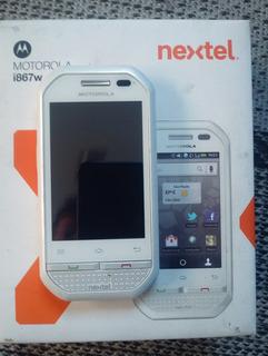 Celular Motorola I867w Branco