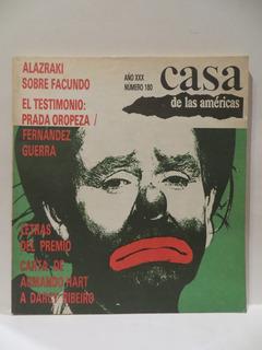 Casa De Las Américas - Año Xxx Mayo - Junio 1990 - Núm. 180