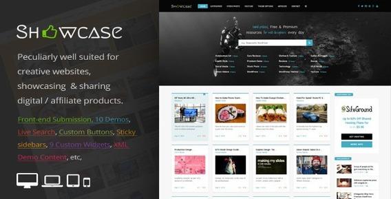 Showcase = Responsivo Wordpress Grid / Maçonaria Blog Tema