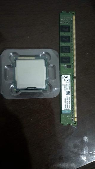 Kit Processador Intel Core I3 2120 + 4gb Ram Ddr3