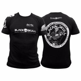bb7209bfd 4 Camisetas Dry Fit Black Skull - Bope Soldado Melhor Preço