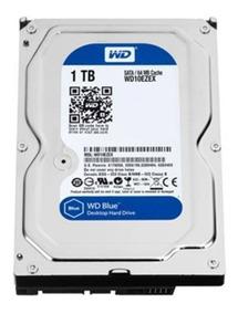 Hd Wd Blue 1tb 7200rpm 64mb Cache Sata 6.0gb/s Pc Wd10ezex