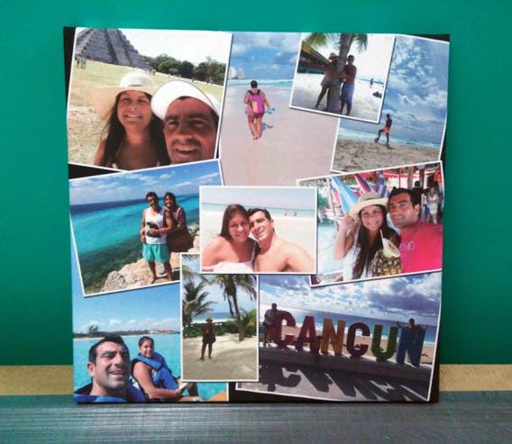 Cuadro Foto Lienzo Canvas Personalizado Con Bastidor 50x50