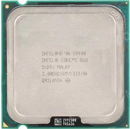 Processador Core 2 Duo E8400 3.0ghz 6mb Lga 775