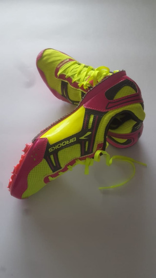 Zapatos Atletismo Brooks + Llave + Taches 7mm