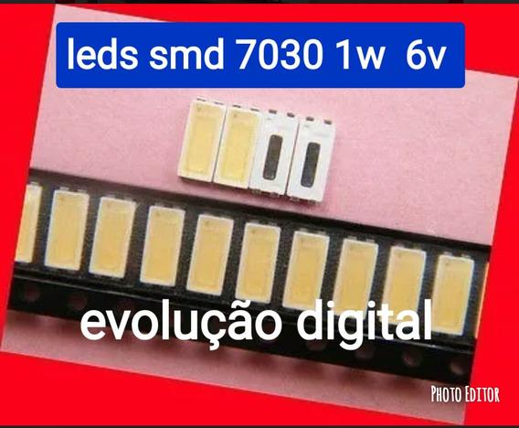 Kit C/150 Led Smd 7030 1w 6v Novo 150 Unidade