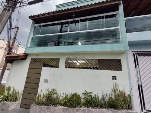 Sobrado Com 3 Dormitórios À Venda, 153 M² Por R$ 480.000,00 - Jardim Santo André - Santo André/sp - So2292