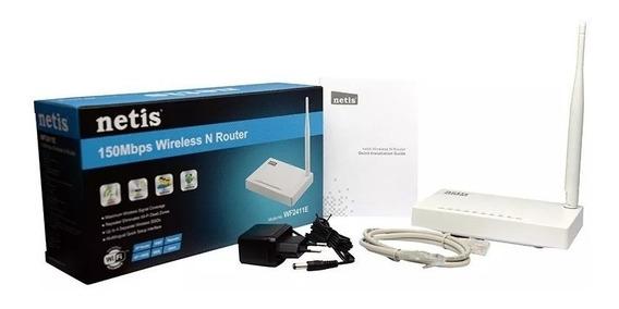 Roteador Repetidor Wifi Netis 150mbps Wf2411e Wps Lançamento