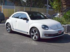 Volkswagen Beetle Turbo Dsg Blanco 2014
