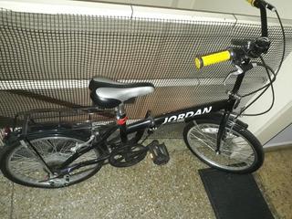 Bicicleta Plegable Jordan Rodado 20 Como Nueva