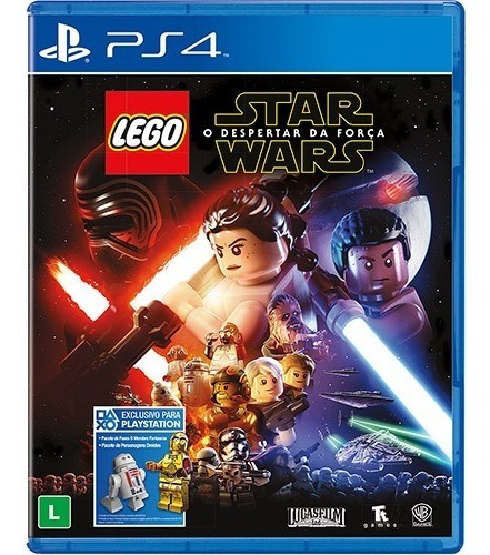 Lego Star Wars O Despertar Da Força (mídia Física) Ps4