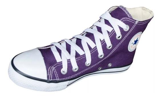 Tênis Converse All Star Cano Alto Azul Jeans Infantil