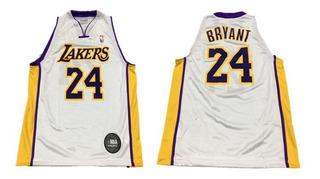 Camiseta Basquet Niño Nba Lakers Kobe Bryant 24 Lic Oficial