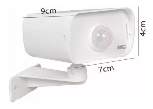 Sensor Iluminação Margirius Pmpx-40f Tipo Camera Uso Externo
