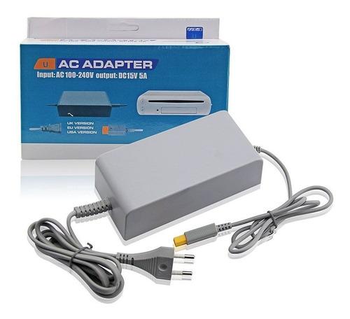 Fuente Adaptador De Corriente Consola Wii U 220v Calidad!