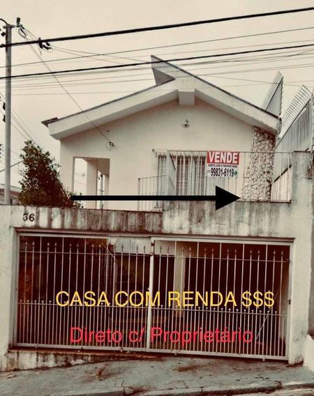 Casa À Venda Lauzane Paulista Direto Com Proprietário