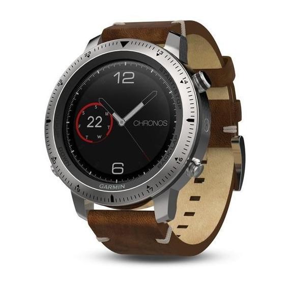 Relógio Smartwatch Garmin Fenix Chronos Leather