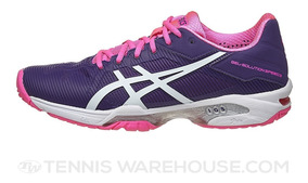 Tenis Asics Dama Gel Solution Speed 3 Morado/rosa