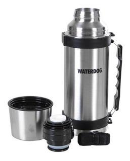 Termo De Acero Inoxidable Waterdog 1 Litro Manija - Ta1000c