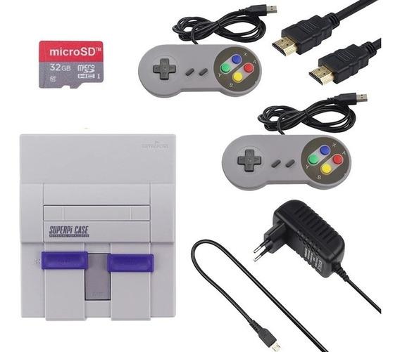 Super Nintendo Videogame Retrô 14 Mil Jogos