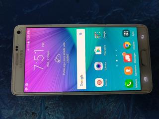 Samsung Galaxy Note 4 Blanco. $3499.