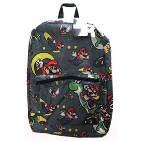 Mochila Escolar Gamer Super Mario World