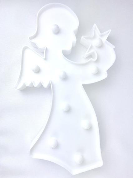 Luminária Led Anjo Abajur Decoração Enfeite Festa