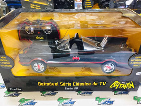Batmóvel Tv Series Batmobile Batman 1/18 Controle Candide