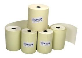 Bobina Termica Impressora 57mm X 30 Metros 10 Unid Amarelo