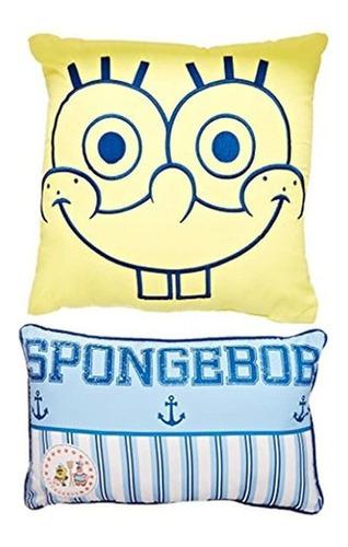 Imagen 1 de 3 de Almohada Decorativa De Nickelodeon Spongebob