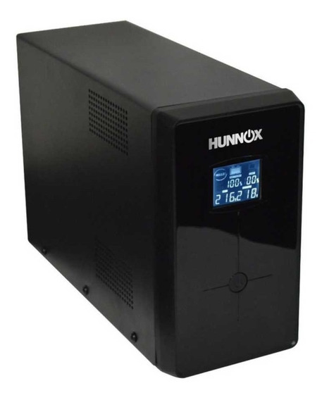 Ups Estabilizador Tension Pc Hunnox 850va Display Lcd Usb