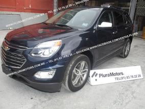 Chevrolet Equinox 2016 Ltz Gps Quemacocos Clima $299,000