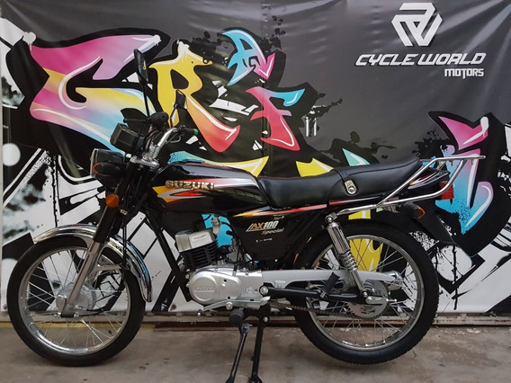 Suzuki Ax 100 Special Vintage 0km 2020 Ahora 12 Y 18 Al 19/7