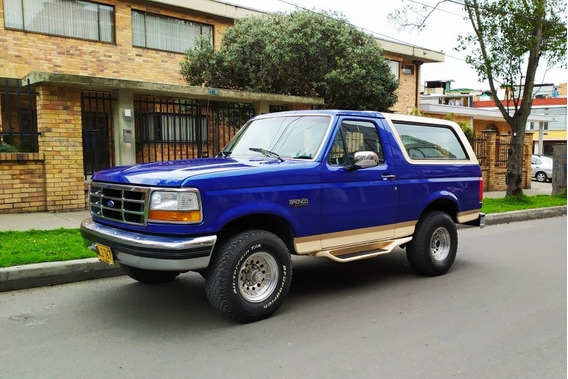 Ford Bronco Xlt Elite