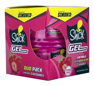 Simoniz Ambientador Fresa Packx2 Gel 80grs